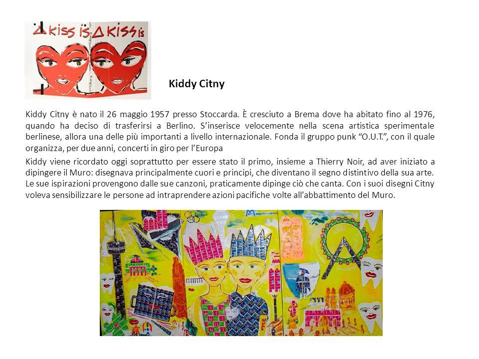 Kiddy Citny è nato il 26 maggio 1957 presso Stoccarda.