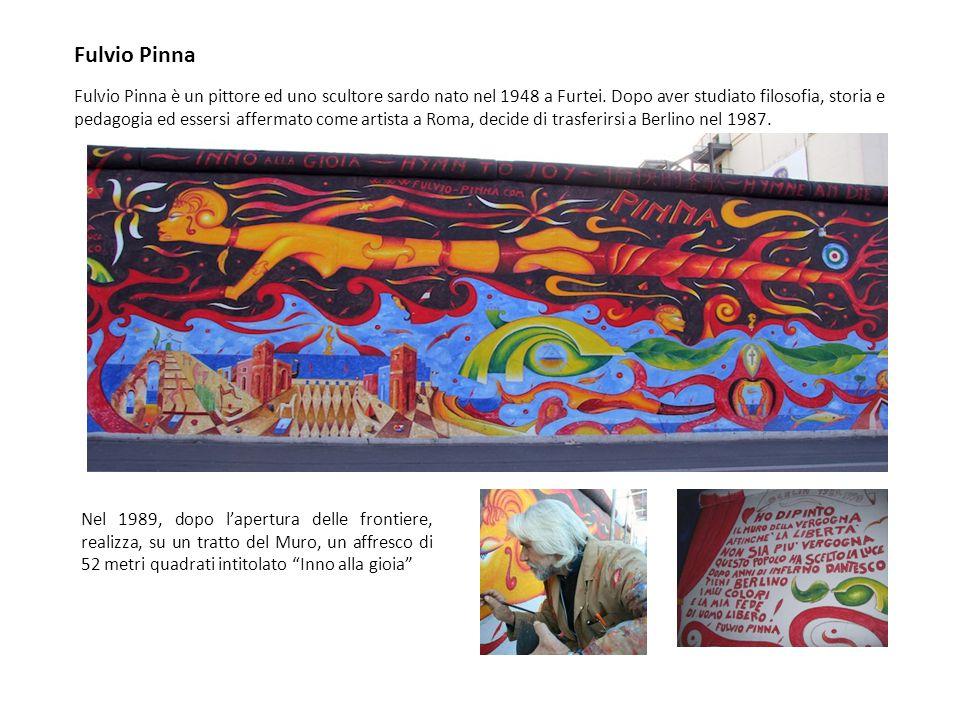 Fulvio Pinna è un pittore ed uno scultore sardo nato nel 1948 a Furtei. Dopo aver studiato filosofia, storia e pedagogia ed essersi affermato come art