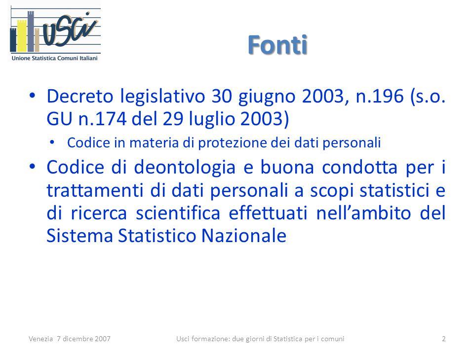 Fonti Decreto legislativo 30 giugno 2003, n.196 (s.o.