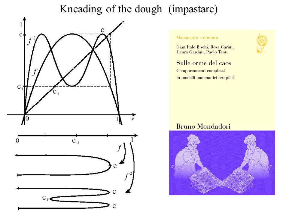 Kneading of the dough (impastare)
