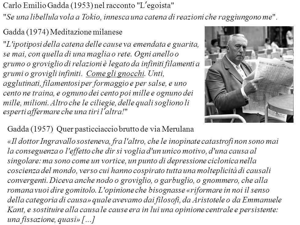 Carlo Emilio Gadda (1953) nel racconto