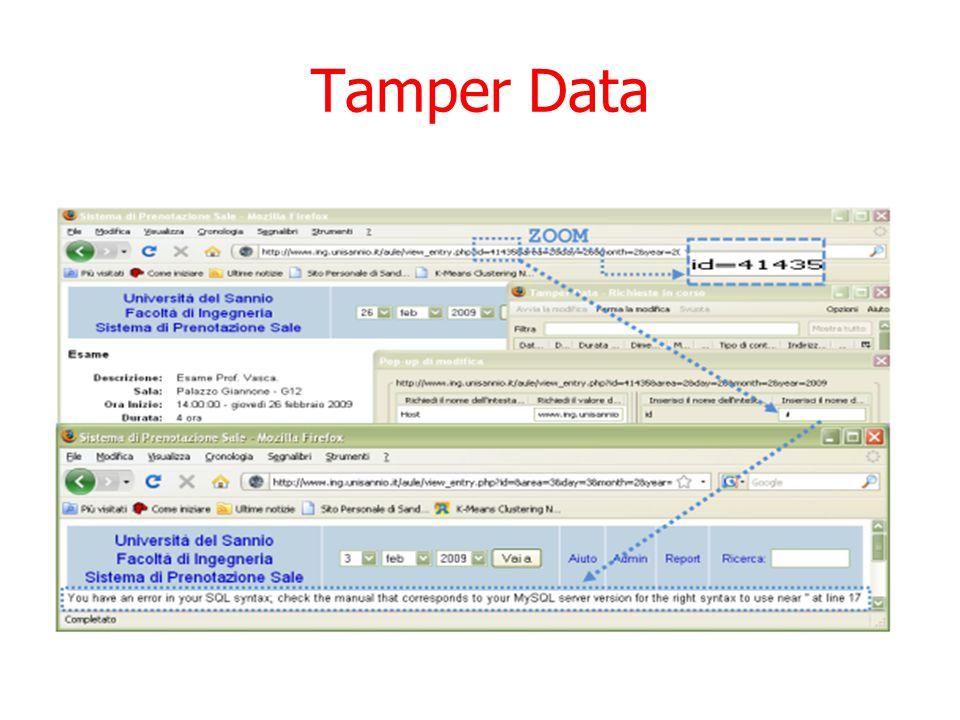 Tamper Data