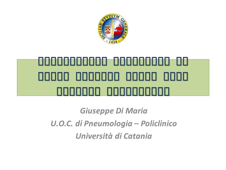 Dispositivi inalatori da studi clinici reali alla pratica quotidiana Giuseppe Di Maria U.O.C. di Pneumologia – Policlinico Università di Catania