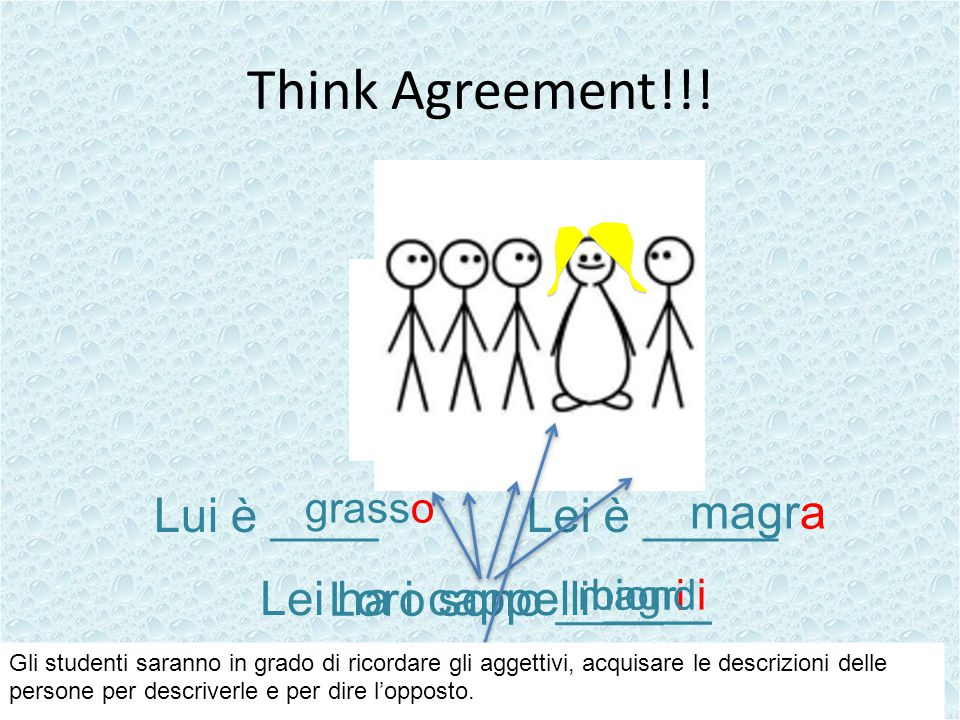 Think Agreement!!.