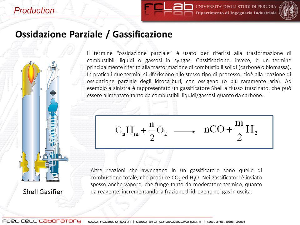 """Ossidazione Parziale / Gassificazione Il termine """"ossidazione parziale"""" è usato per riferirsi alla trasformazione di combustibili liquidi o gassosi in"""