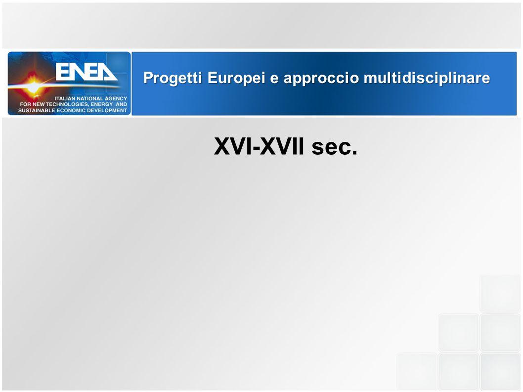 Progetti Europei e approccio multidisciplinare CULTURA UMANISTICA XVI-XVII sec.