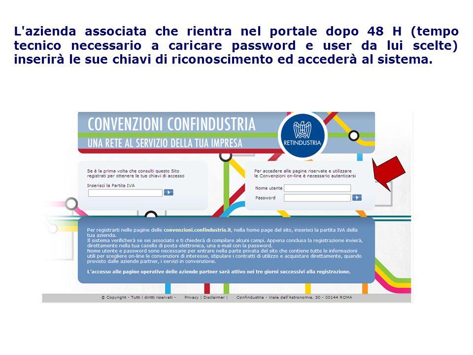 A questo punto avrà accesso alla seguente pagina dove per settore troverà tutti i partner delle convenzioni Confindustria