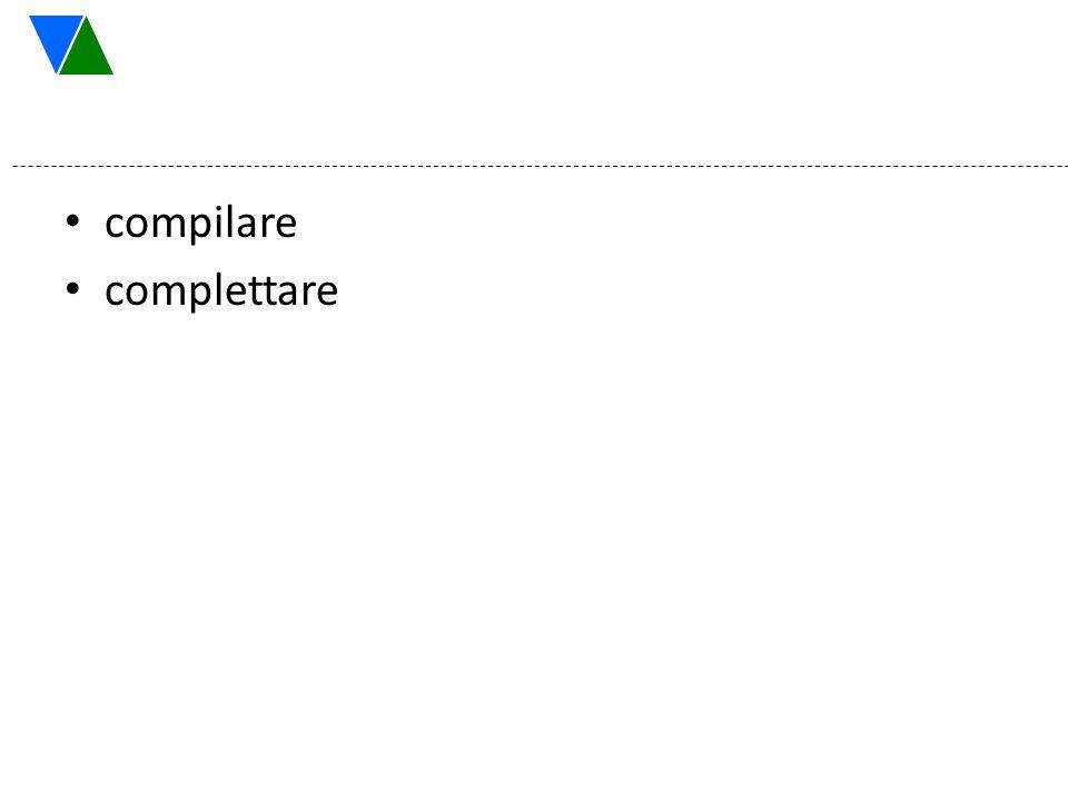 compilare complettare