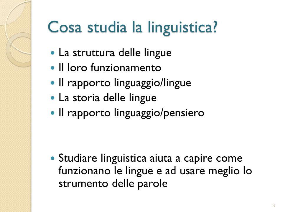 Che cos'è la linguistica applicata.Definizione di linguistica Cosa studia la linguistica.