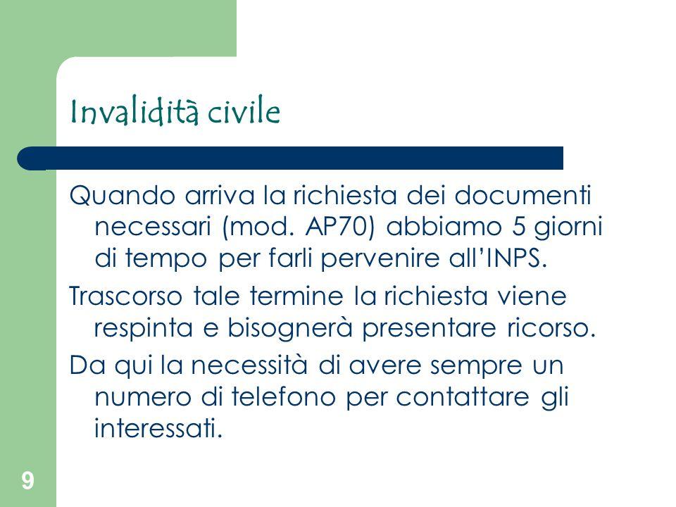 10 Invalidità civile PATOLOGIE ONCOLOGICHE L'art.
