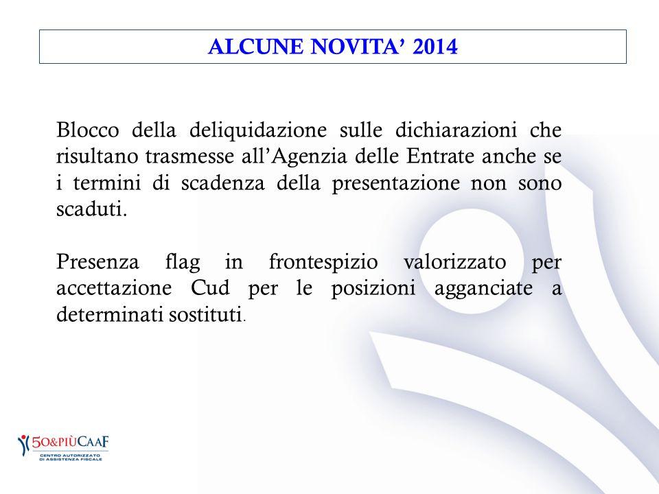 Blocco della deliquidazione sulle dichiarazioni che risultano trasmesse all'Agenzia delle Entrate anche se i termini di scadenza della presentazione n