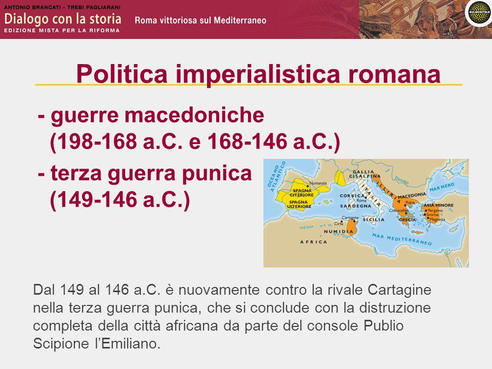 Dal 149 al 146 a.C.