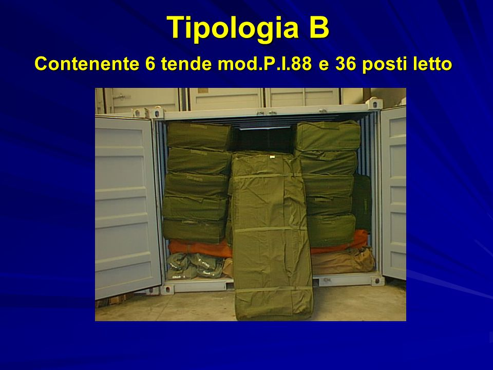 Padiglioni igienici Lunghezza Metri 6,56 Altezza Metri 2,48 Larghezza Metri 2,80 Peso Kg 2700