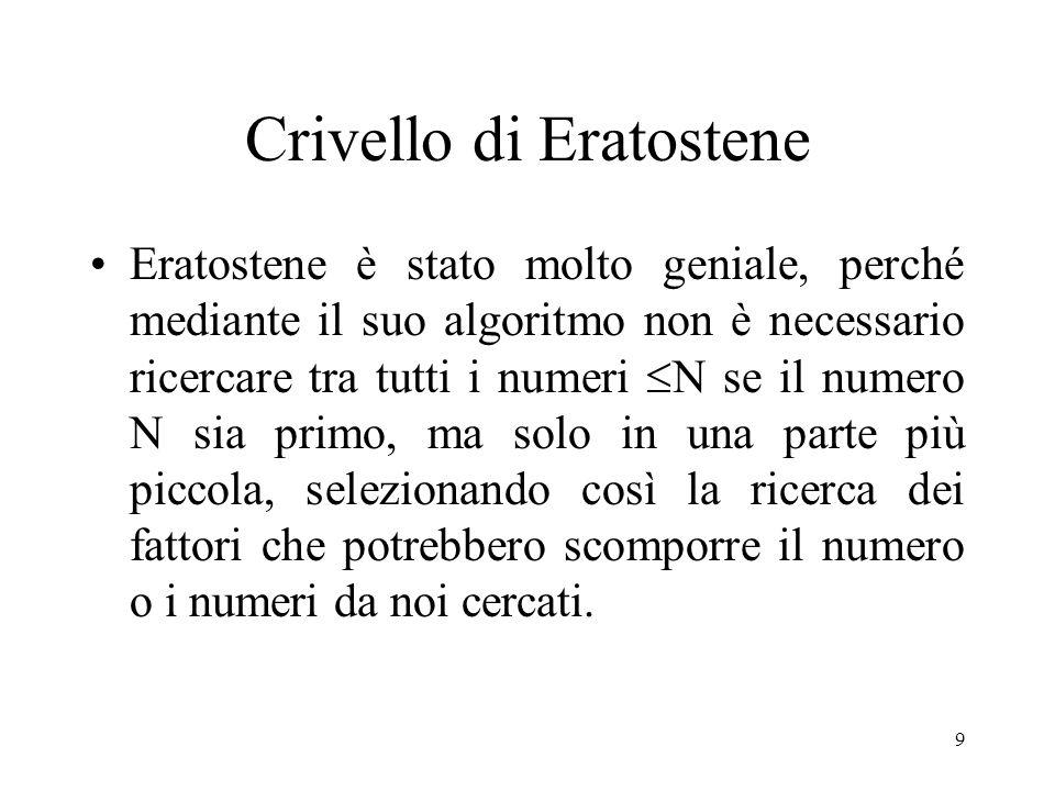 40 Criteri di divisibilità Blaise Pascal Criteri di divisibilità (in generale): Partendo dal criterio di divisibilità per 9, indica un criterio valido anche per gli altri numeri; Dandone anche una dimostrazione.