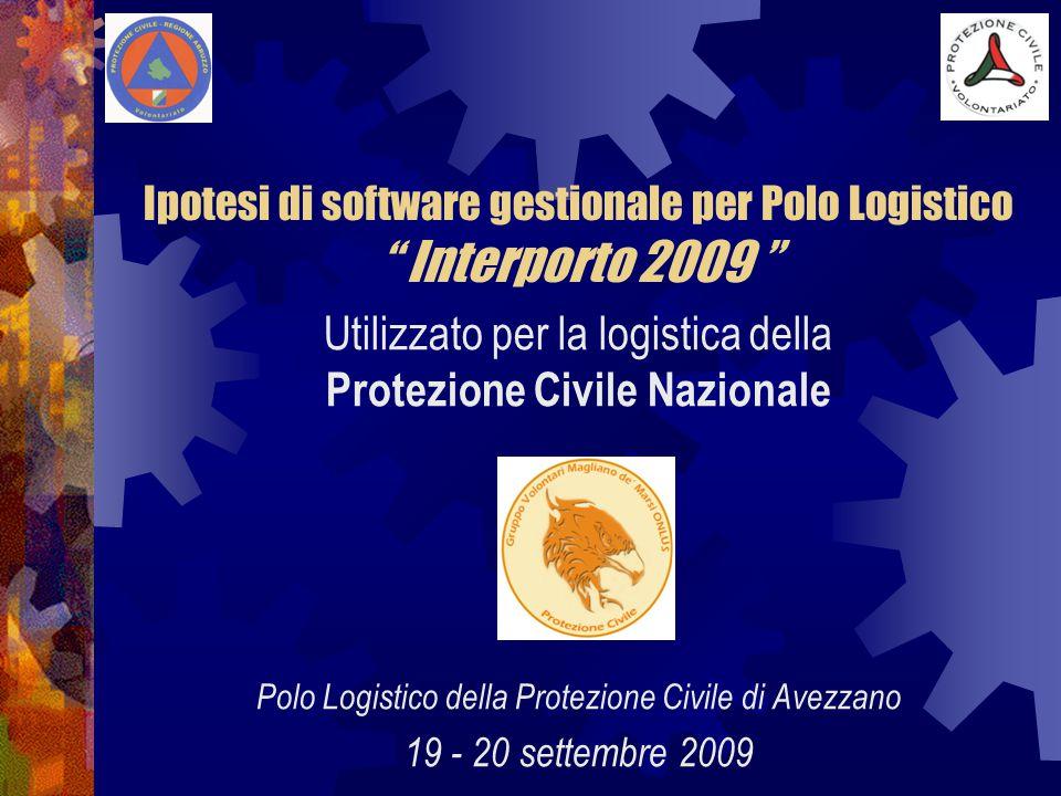 REGIONE ABRUZZO Direzione Protezione Civile, Ambiente La funzione della Regione Abruzzo nell'impiego del software La funzione del volontariato La funzione del tutor