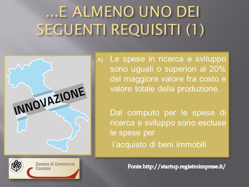 START UP IN ITALIA