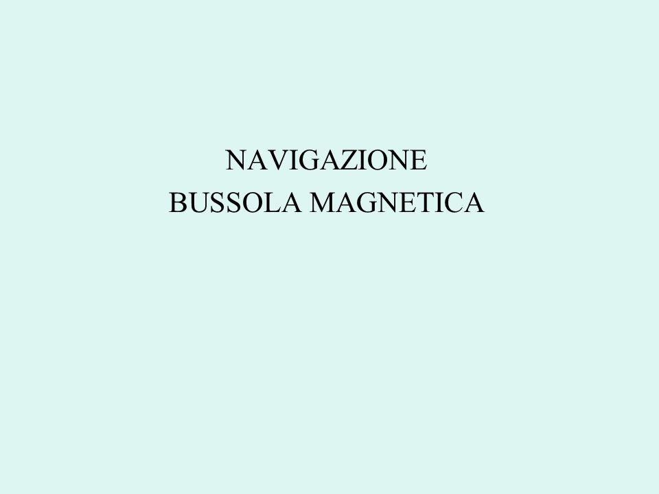 NAVIGAZIONE BUSSOLA MAGNETICA