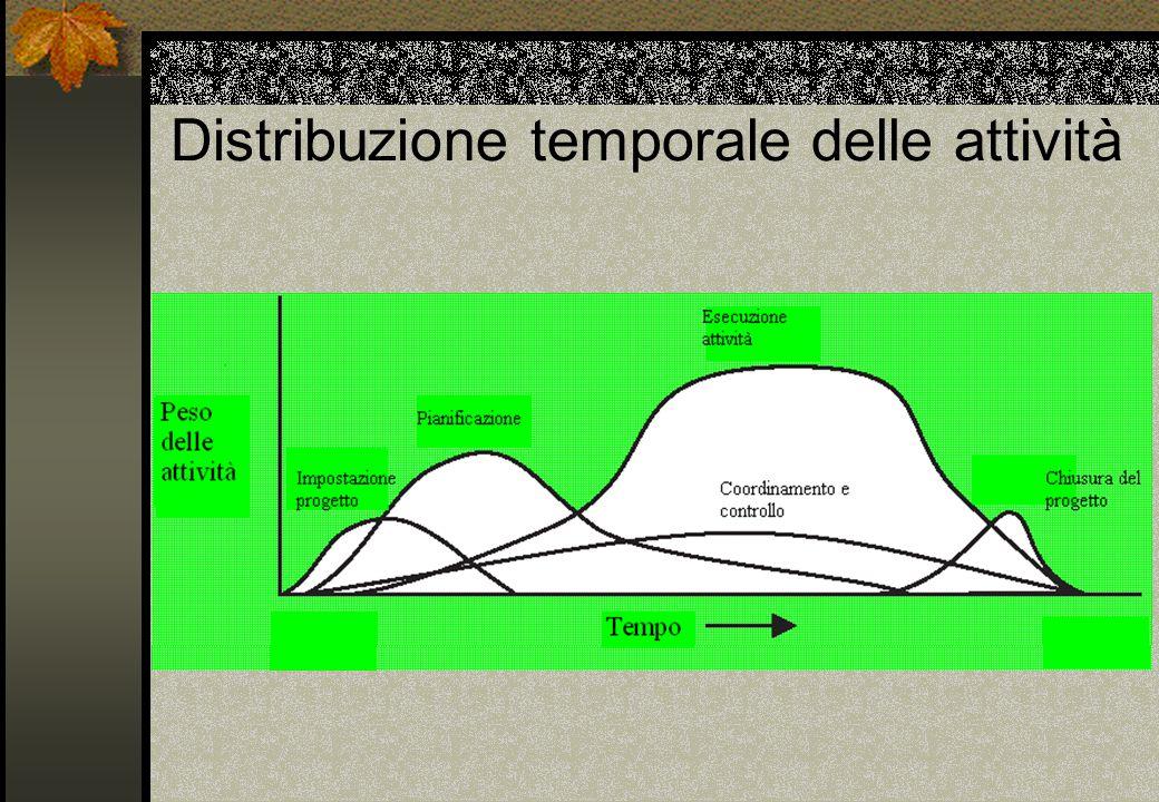 Distribuzione temporale delle attività