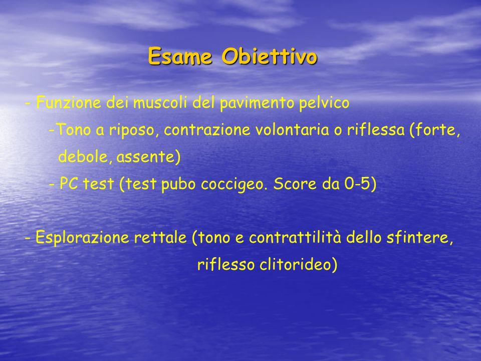 Esame urodinamico Esame urodinamico E' lo studio funzionale dell'apparato urinario.