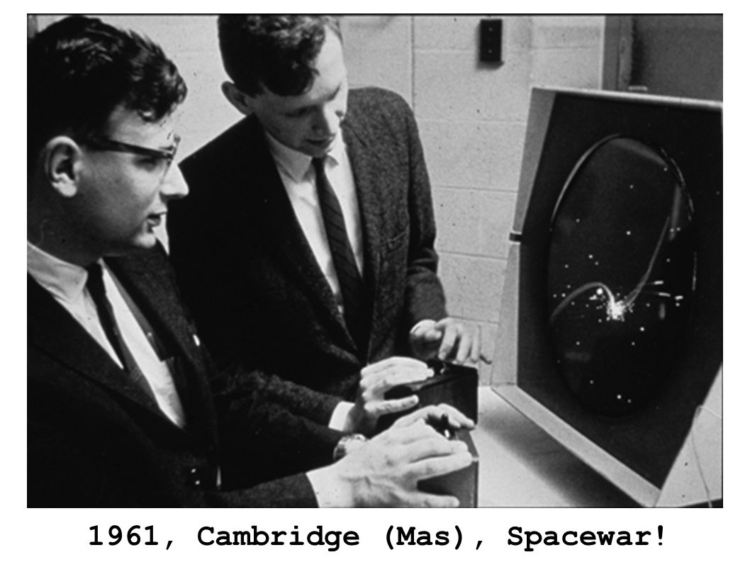 1961, Cambridge (Mas), Spacewar!