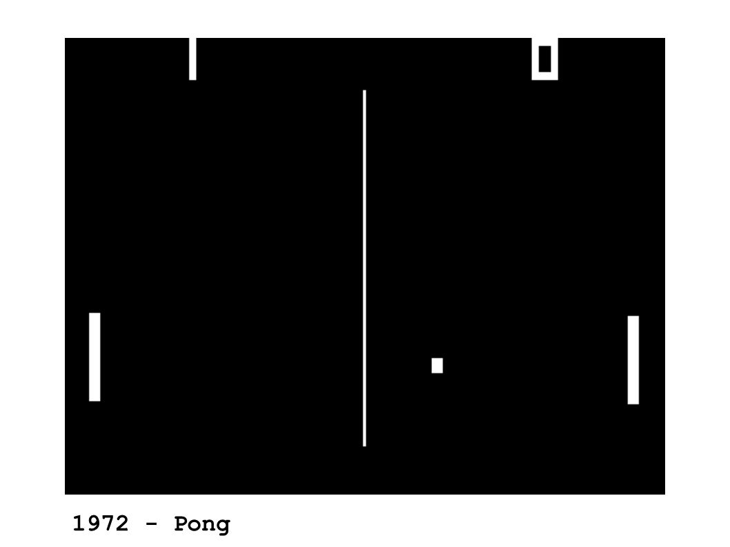 1972 - Pong