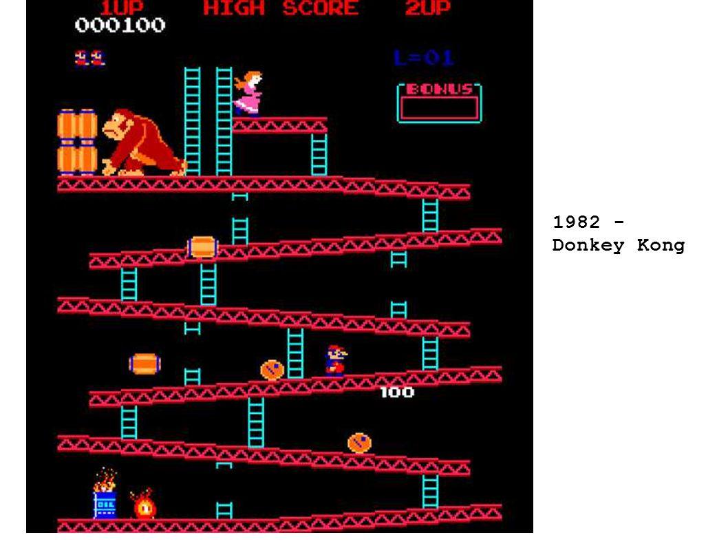 1982 - Donkey Kong