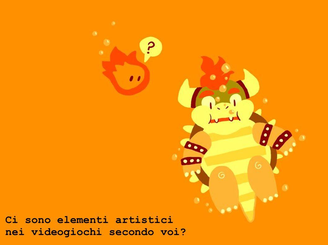 Ci sono elementi artistici nei videogiochi secondo voi