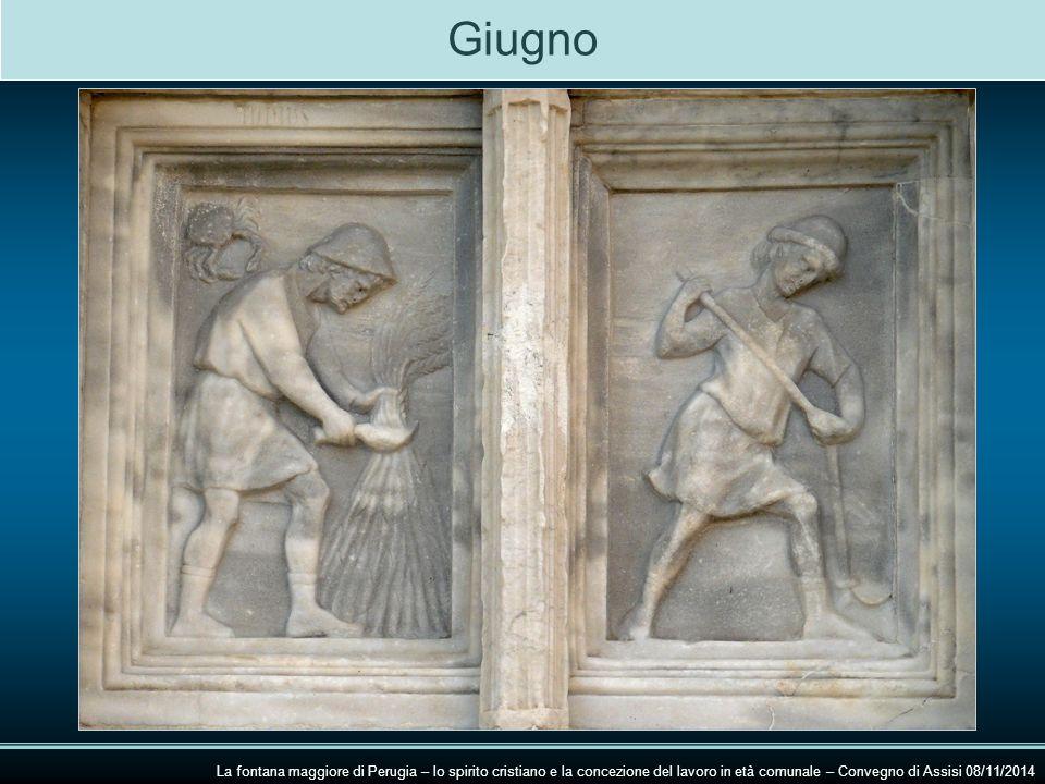 Giugno La fontana maggiore di Perugia – lo spirito cristiano e la concezione del lavoro in età comunale – Convegno di Assisi 08/11/2014