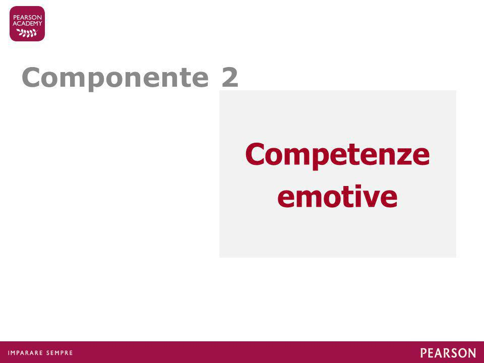 Componente 2 Competenze emotive