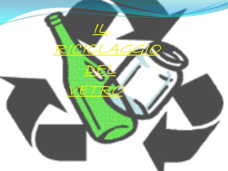 Il riciclaggio è un sistema intelligente per lo smaltimento i rifiuti....