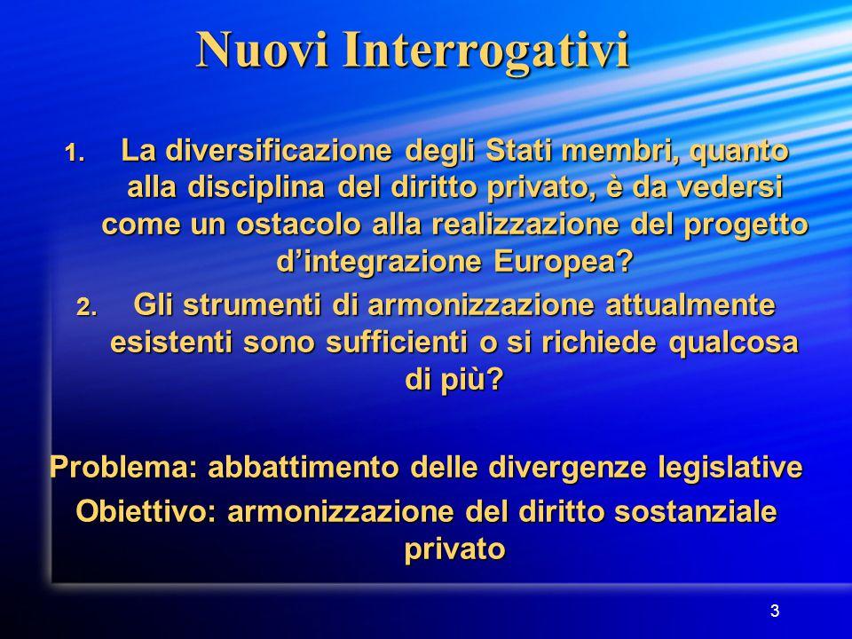 3 Nuovi Interrogativi 1.