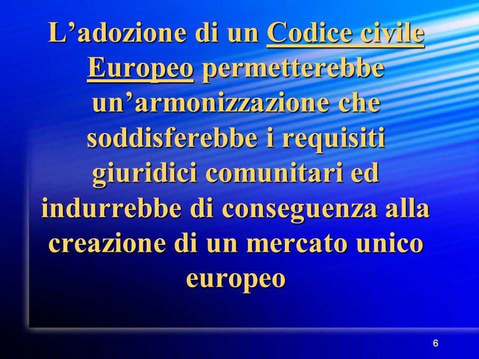 7 COM(2001) 398 definitivo Struttura della Comunicazione 1.