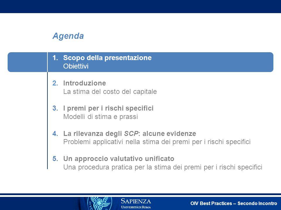 Premio per il rischio specifico Vulpiani (2014) sviluppa un'analisi empirica finalizzata a verificare l'esistenza e l'eventuale entità di un premio per il rischio specifico per il mercato italiano, tedesco e statunitense.
