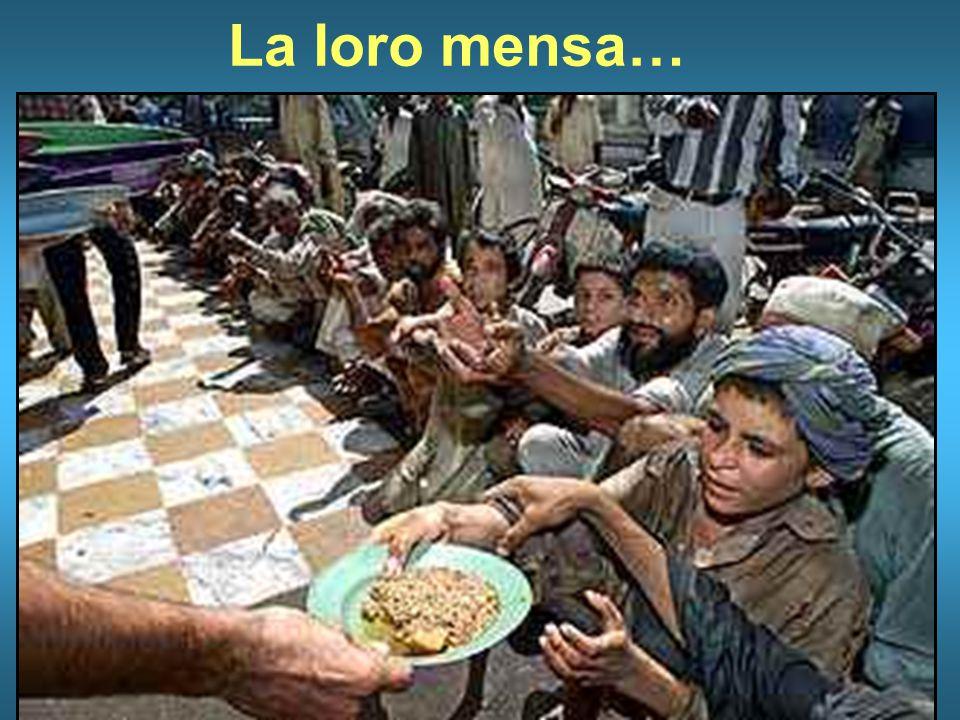 La loro mensa…