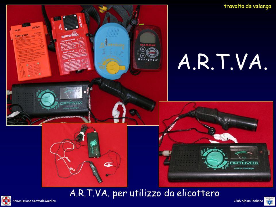 Commissione Centrale Medica Club Alpino Italiano A.R.T.VA.