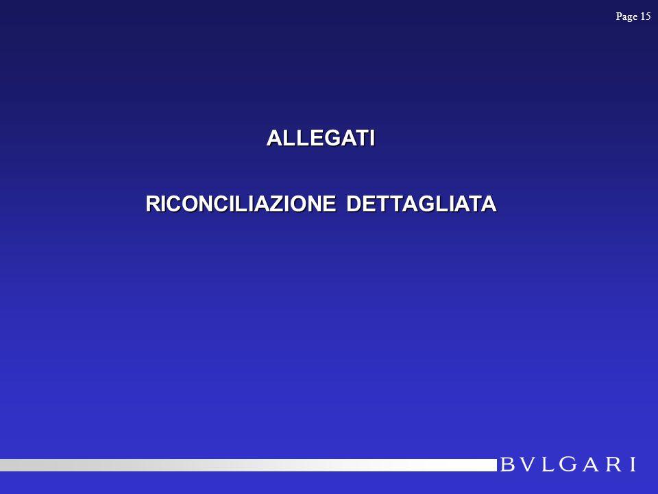 ALLEGATI RICONCILIAZIONE DETTAGLIATA Page 15