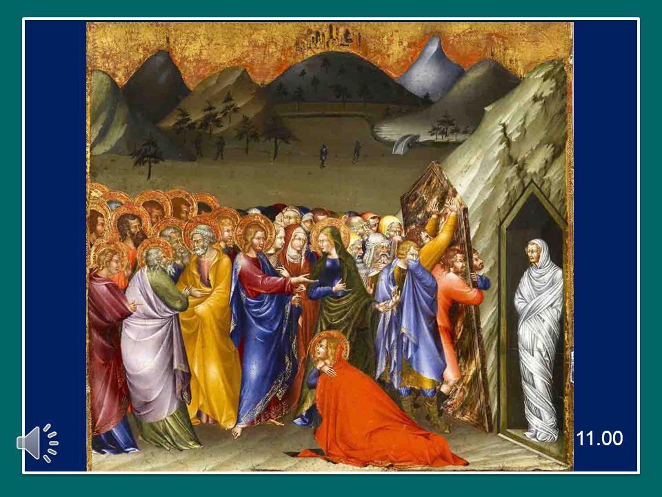 E' il culmine dei segni prodigiosi compiuti da Gesù: è un gesto troppo grande, troppo chiaramente divino per essere tollerato dai sommi sacerdoti, i quali, saputo il fatto, presero la decisione di uccidere Gesù