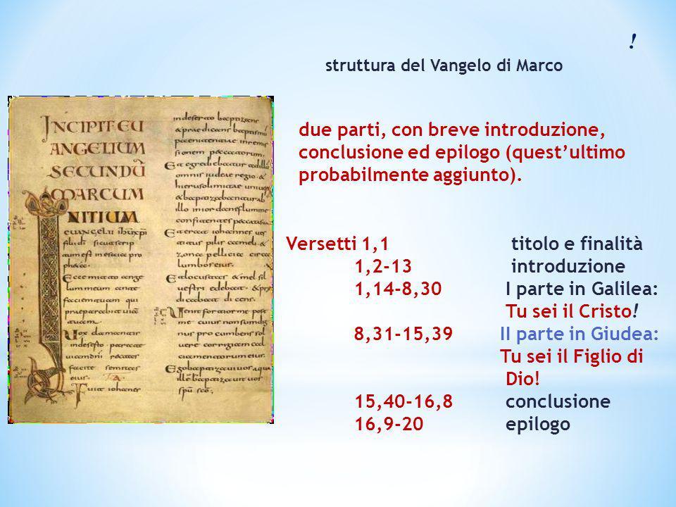 ! due parti, con breve introduzione, conclusione ed epilogo (quest'ultimo probabilmente aggiunto). Versetti 1,1 titolo e finalità 1,2-13 introduzione