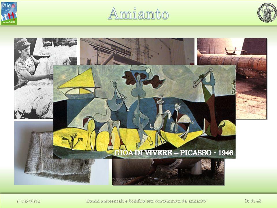 07/03/2014 Danni ambientali e bonifica siti contaminati da amianto16 di 43