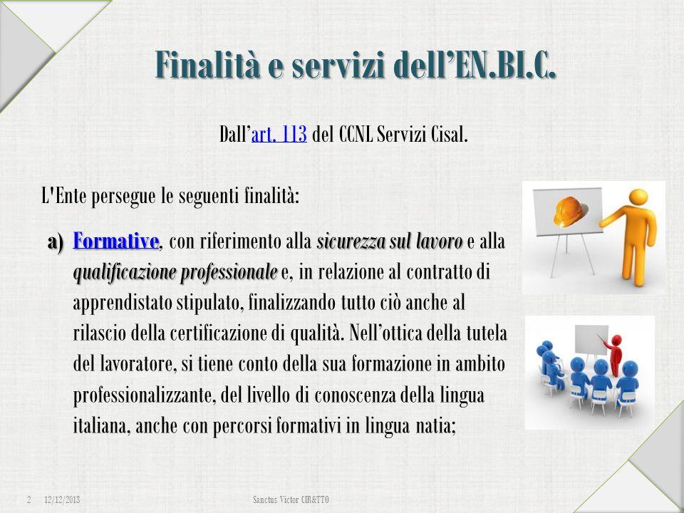 12/12/2013 13 Sanctus Victor CIR&TTO Iscrizione Dipendente Torniamo al sistema informativo, ma questa volta clicchiamo su Effettua un login .