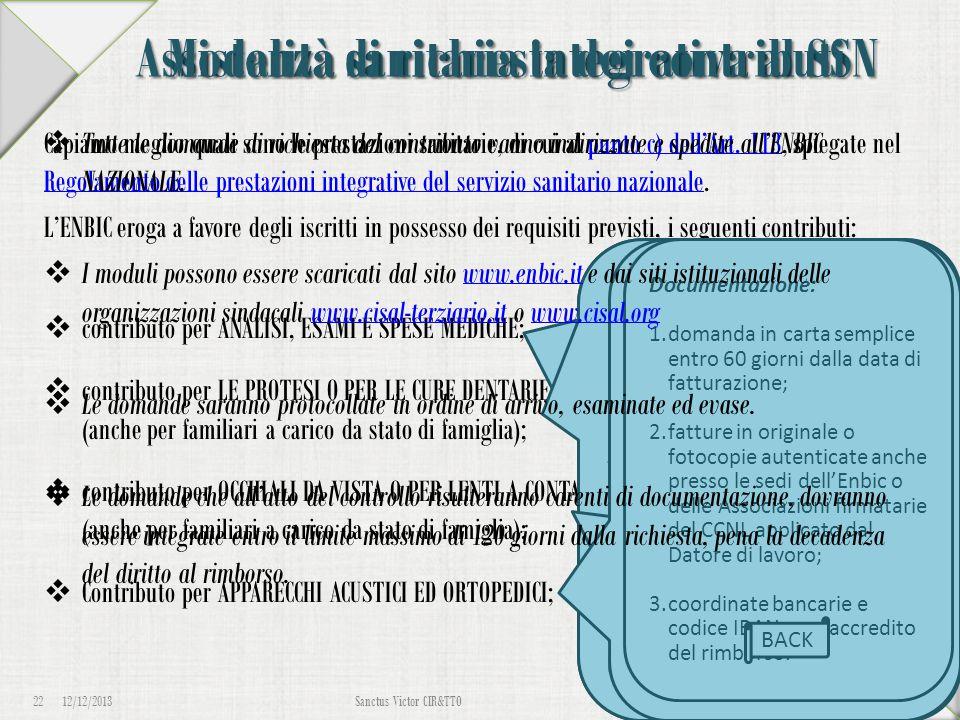 Assistenza sanitaria integrativa al SSN Capiamo meglio quali sono le prestazioni sanitarie, di cui al punto c) dell'Art. 113, spiegate nel Regolamento