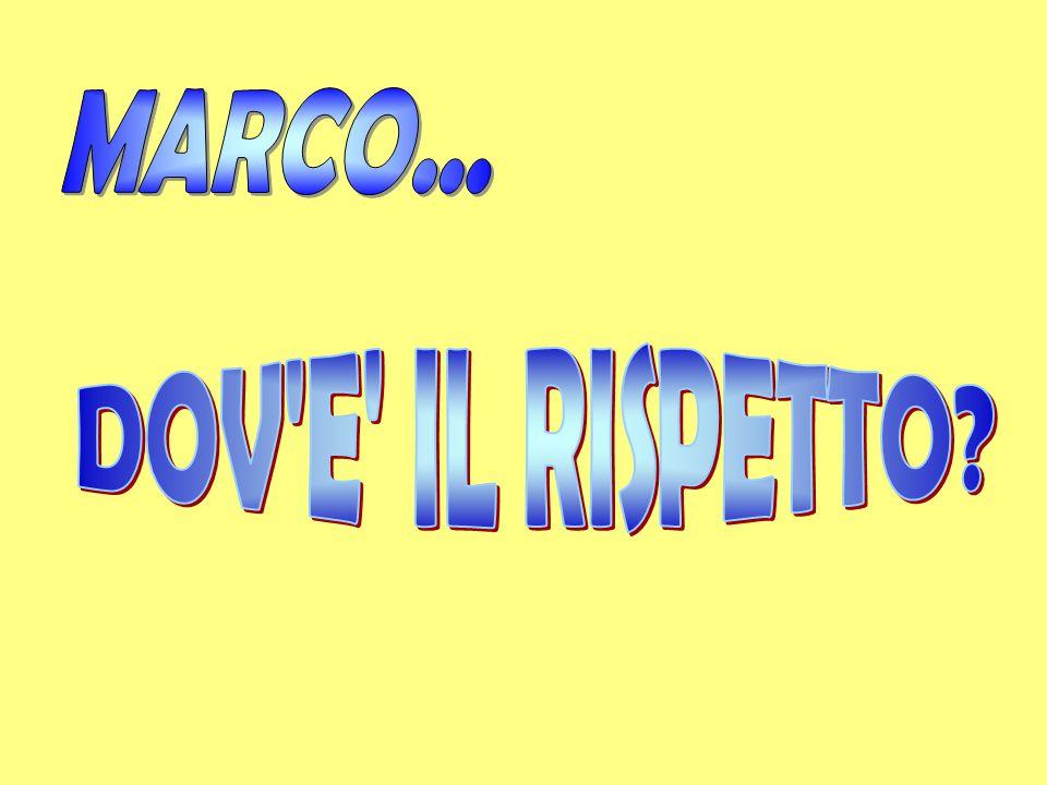C'era una volta un bambino di nome Marco che frequentava la classe 3^.