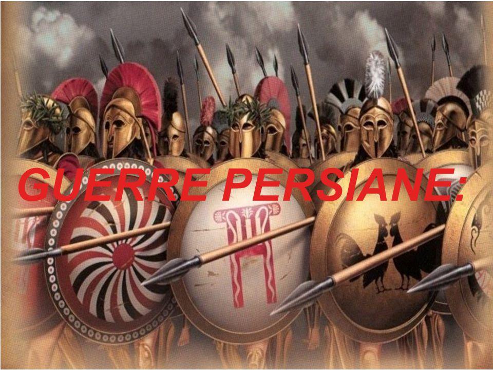 CAUSA PRINCIPALE Atene ed Eretria vanno in aiuto delle cittá greche dell Asia minore che, dovendo versare tributi ai dominatori persiani, si erano ribellate.
