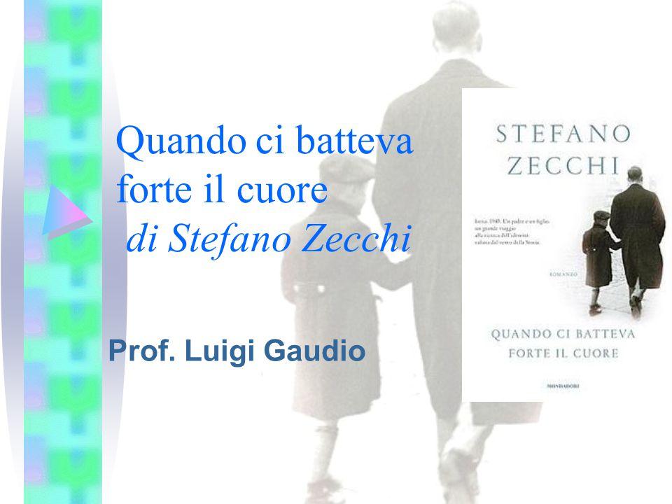Quando ci batteva forte il cuore di Stefano Zecchi Prof. Luigi Gaudio