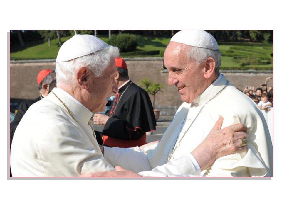 Papa Francesco ha donato un'icona della Madonna dell'Umiltà al Papa emerito Benedetto XVI