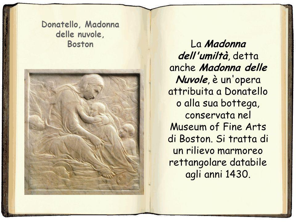 La Madonna dell'Umiltà è un tema iconografico mariano in uso dall'inizio del XIV secolo. Mostra la Vergine seduta in terra col Bambino, a differenza d
