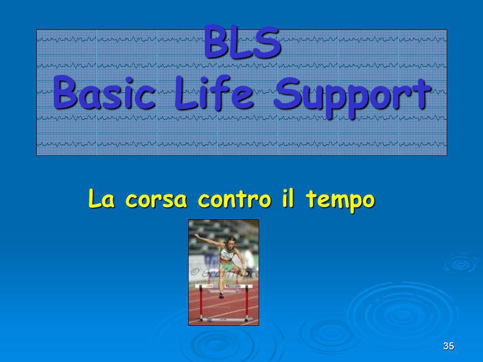 35 BLS Basic Life Support La corsa contro il tempo