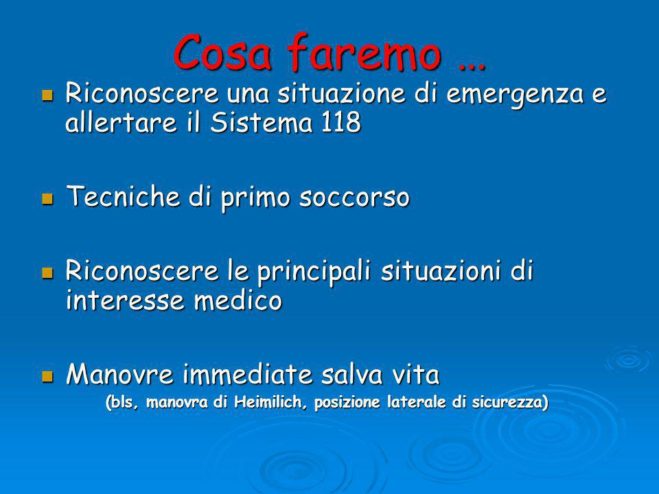 LO SHOCK  È un'emergenza medica ASSOLUTA  EMORRAGICO (emorragie imponenti, esterne, interne, ferite multiple..)  IPOVOLEMICO (ustioni estese..)  SETTICO (legato a stato settico)  CARDIOGENO (insufficienza cardiaca)  ANAFILATTICO (reazioni di ipersensibilità)