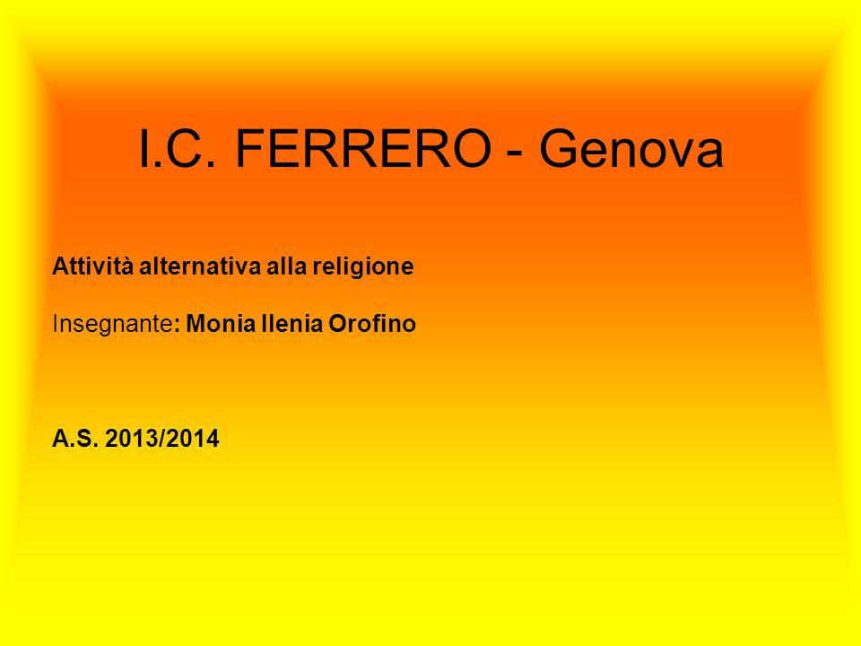 Attività alternativa alla religione Insegnante: Monia Ilenia Orofino A.S.