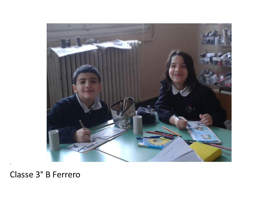 . Classe 3° B Ferrero